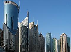 Wolkenkratzer - Shanghai