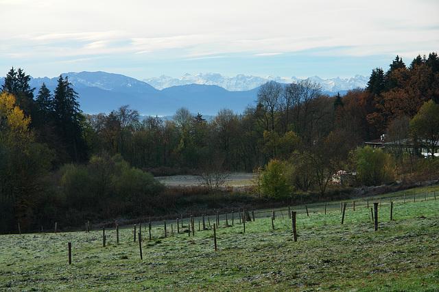 Icking - Isartal und Alpen