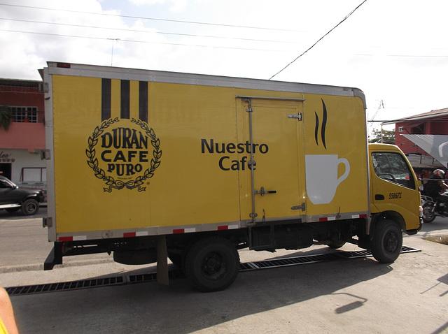 Camion caféiné / Caffeinated truck -  22 janvier 2013.