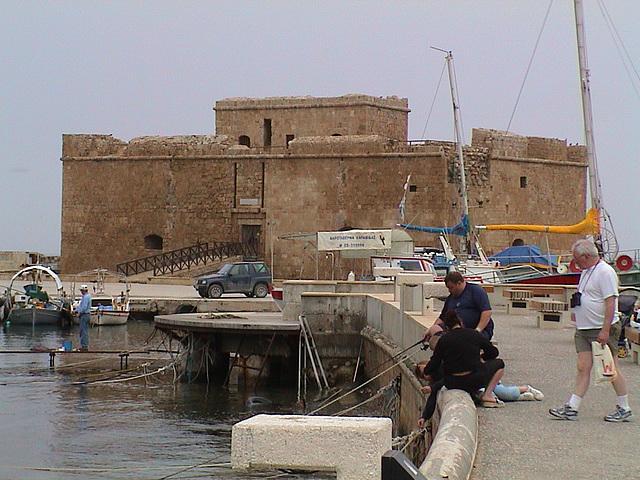 Cyprus, Paphos, Fort