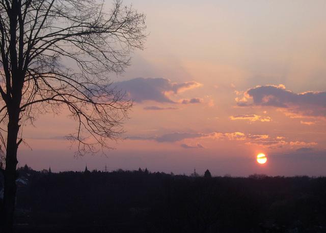sunset - 2009-04-03