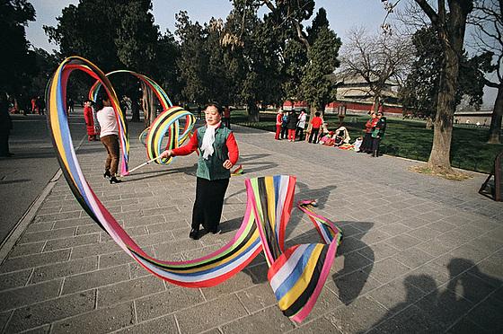 Ribbon dance I.