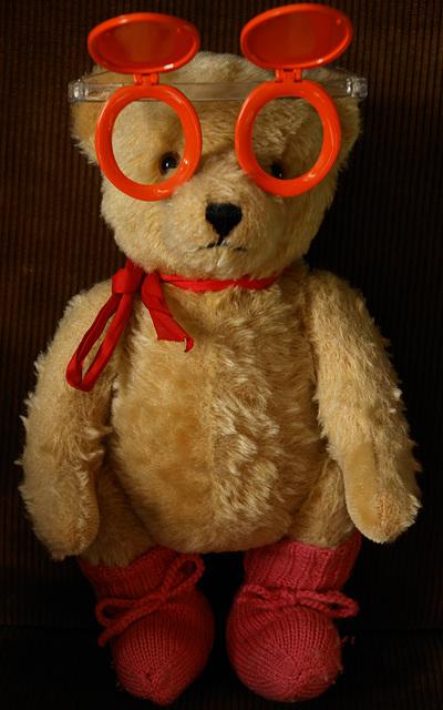 Cora's bear