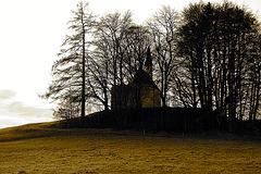 Weipertshausen - St. Coloman (sepia)