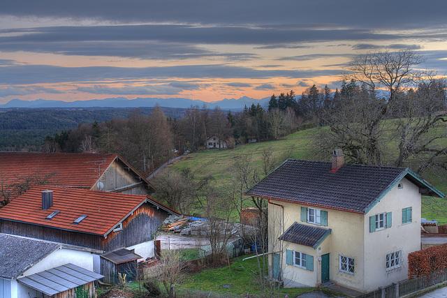 Das Isartal und Photomatix - Isar Valley and Photomatix