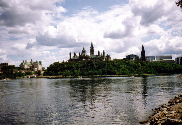 ottawa as seen from hull