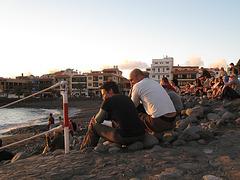 Sundowning in La Playa