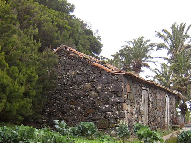 IMG 1832 altes Steinhaus in Las Hayas