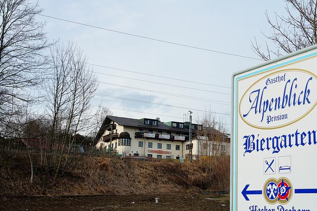 """Icking - Gasthof """"Alpenblick"""""""