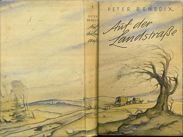 Peter Benedix - Auf der Landstraße (Einband)