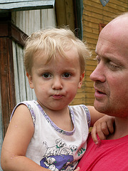 Papa and Child