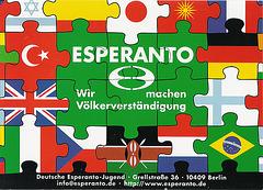 Esperantistoj interkomprenigas popolojn!