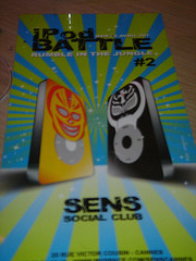 iPod Battle #2 au Sens Social Club