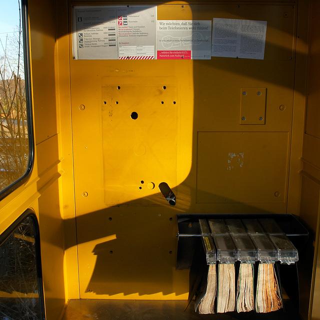 Icking - Die neue Telefonzelle!
