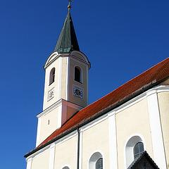 """Glonn - """"Da war die Kirche mit ihrem spitzen Turm ..."""""""