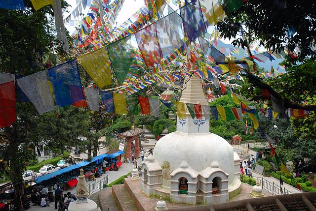 Swayambhunath Complex Kathmandu Nepal