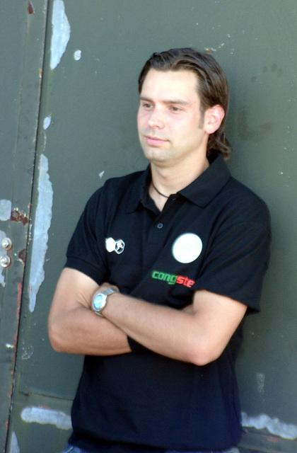 Christian Bönig, der Pressesprecher