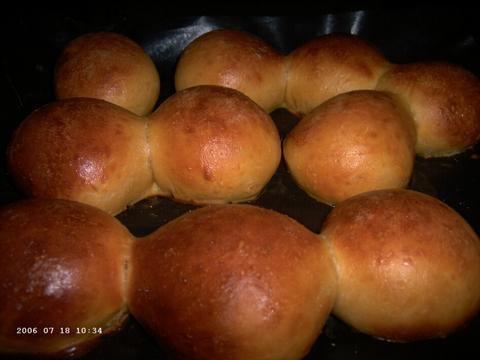 Zoete-aardappelbroodjes