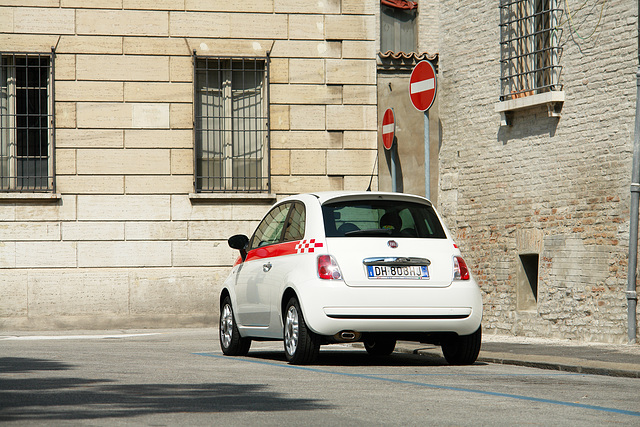Ravenna - Fiat 500