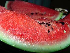 Leckere Wassermelone *slurp* :o)