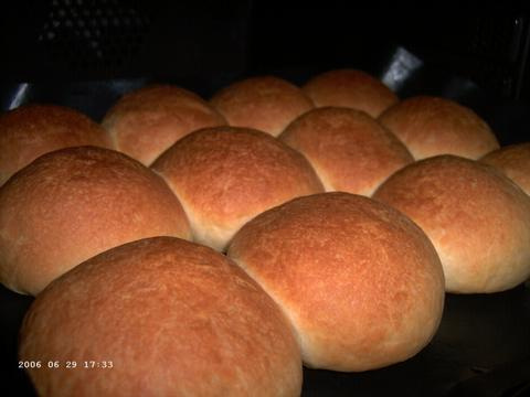 Butter-Dipped Dinner Rolls