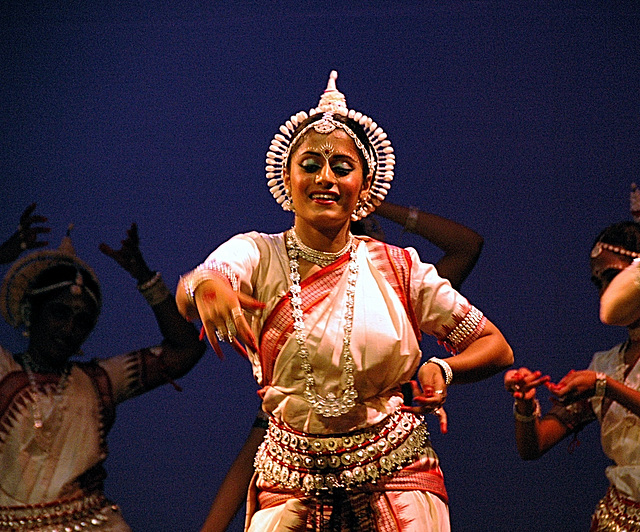A dancer at the Konarak Dance festival