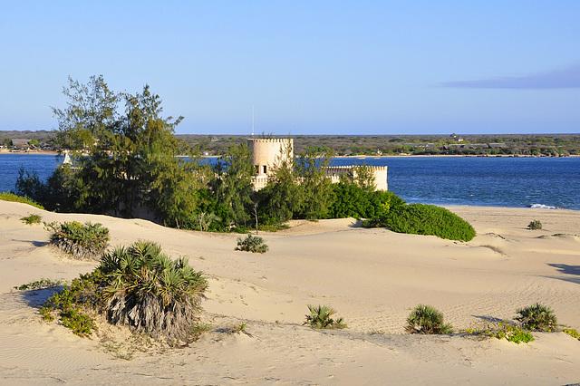 Das Fort von Landseite
