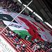 Mainz 05 und Mönchengladbach - Blockfahne