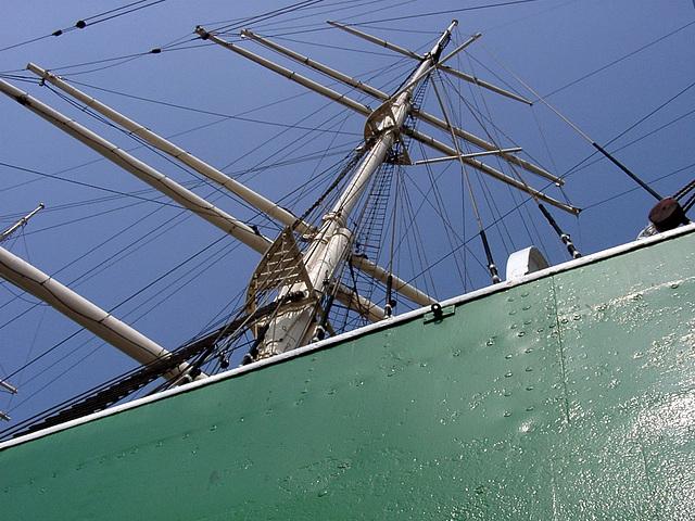 "Mast of ""Rickmer Rickmers"""