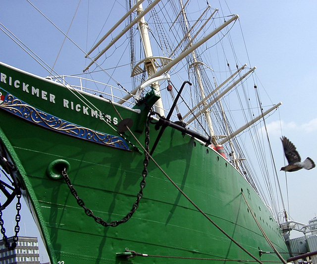 "Bow of ""Rickmer Rickmers"""