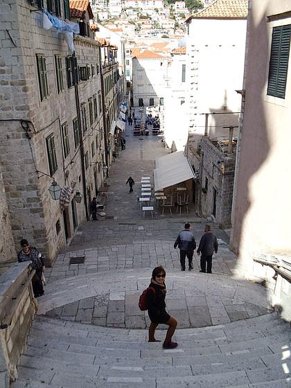 Rigardo al malnova urbo de Dubrovnik