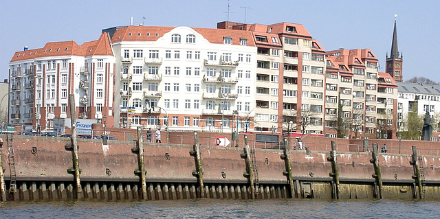 """Home, sweet home"" am Fischmarkt Altona"