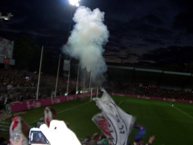 Smoke in the Munich-sector