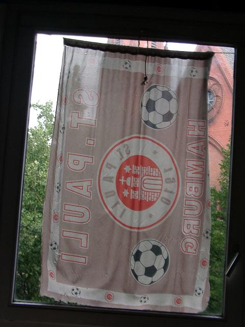 My window. Sleepingroom