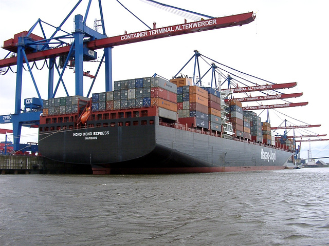 """Hong Kong Express"", Container Terminal Altenwerder"