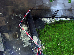 Pipe burst on my entrance
