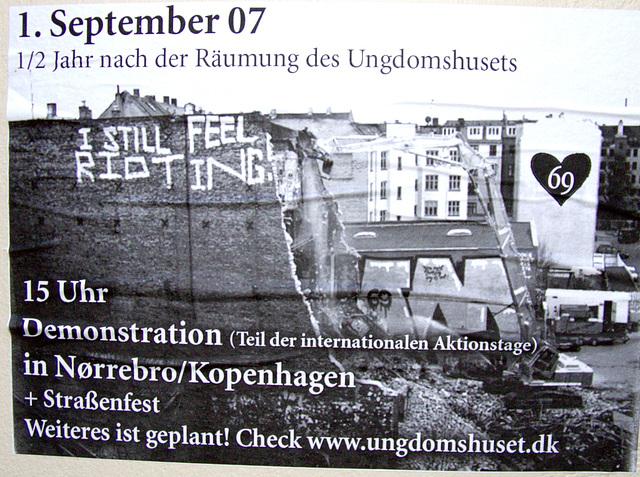 1. September 2007: Demonstration und Strassenfest