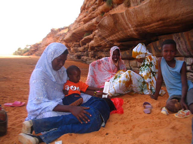 Famille Nomade Mauritanie