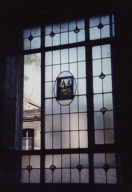 Leipzig Calvisiusstrasse Fensteransicht