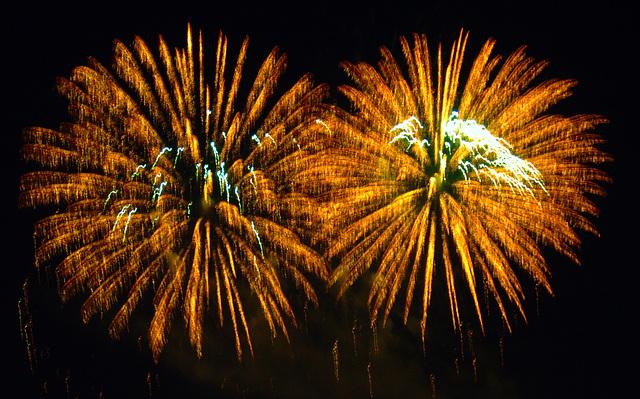 Dom - Feuerwerk