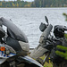 Ganz ehrlich, hier is alles voll mit Seen und Mopeds.