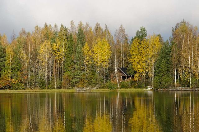 Herbstwaldseehaus