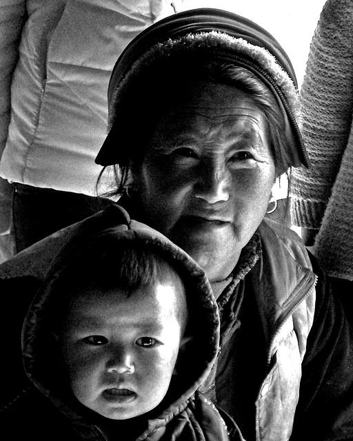 Tibetan Madonna and Child
