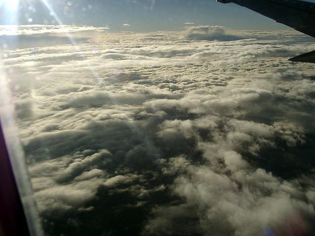 Über den Wolken... muss die Freiheit wohl grenzenlos sein....