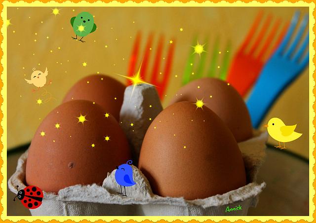 Joyeuses fêtes de Pâques à vous