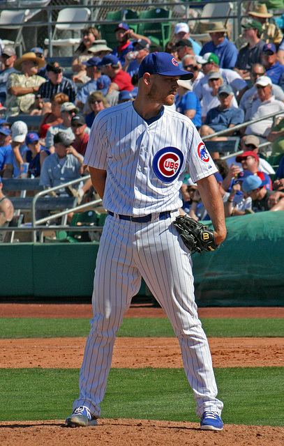 Chicago Cubs Pitcher (0343)