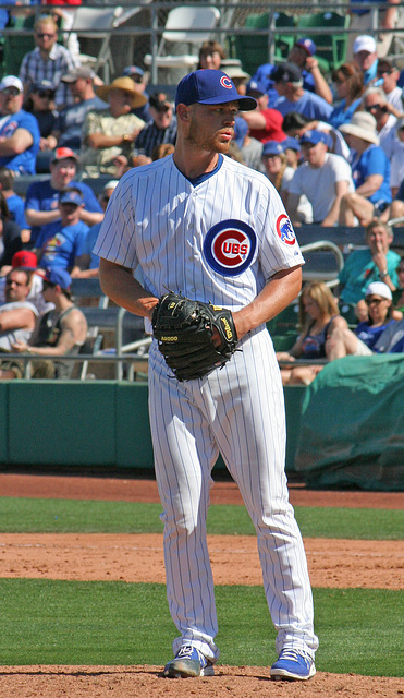 Chicago Cubs Pitcher (0347)