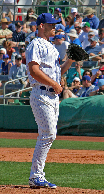 Chicago Cubs Pitcher (0352)