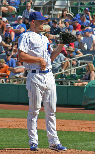 Chicago Cubs Pitcher (0355)