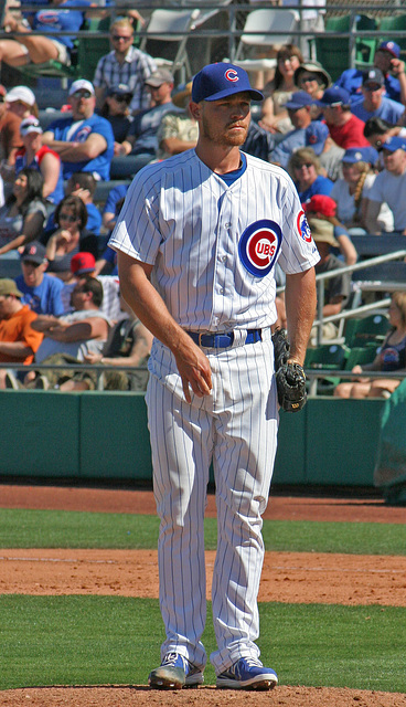 Chicago Cubs Pitcher (0357)